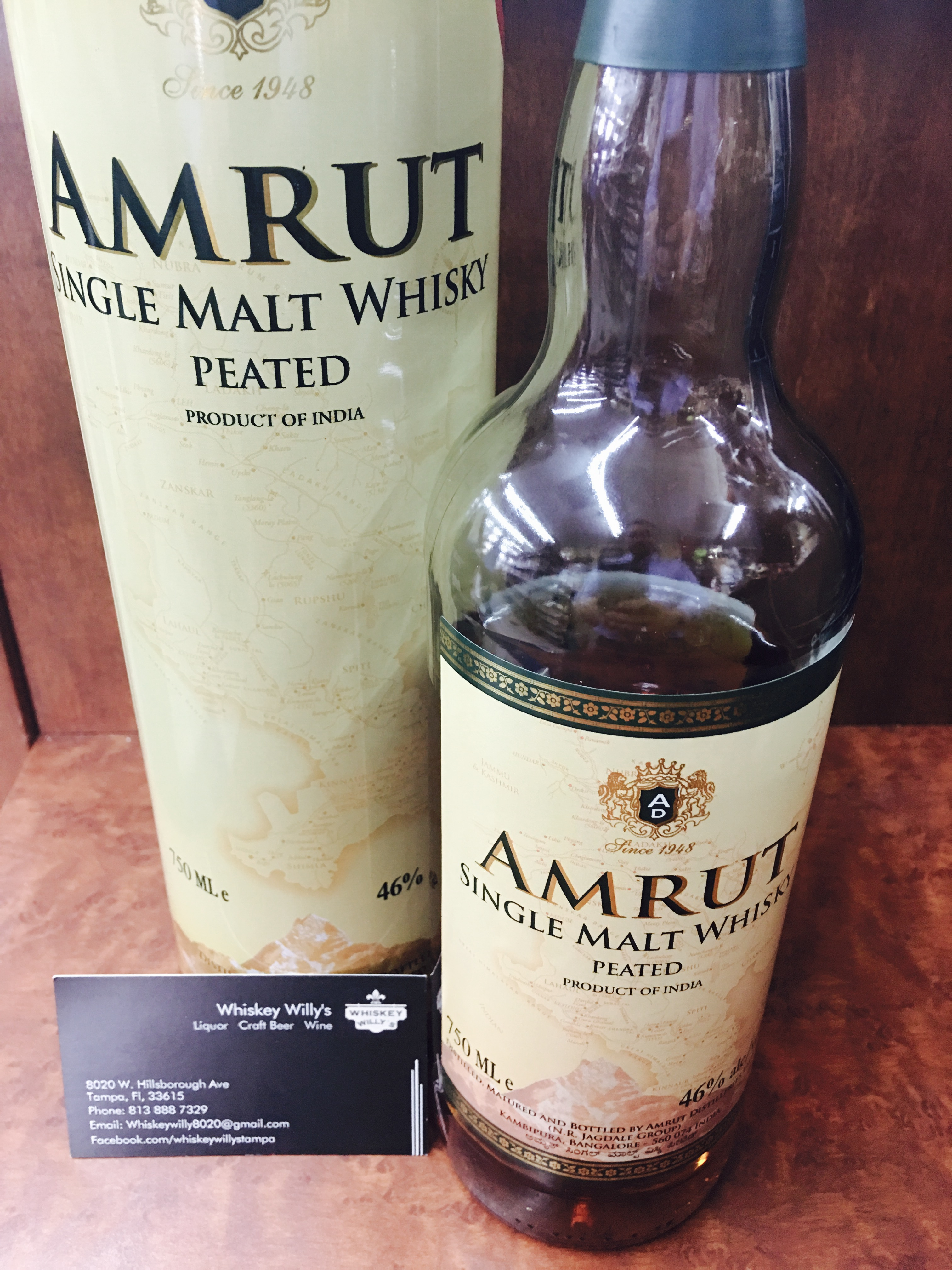 Amrut Single Malt Peated Review