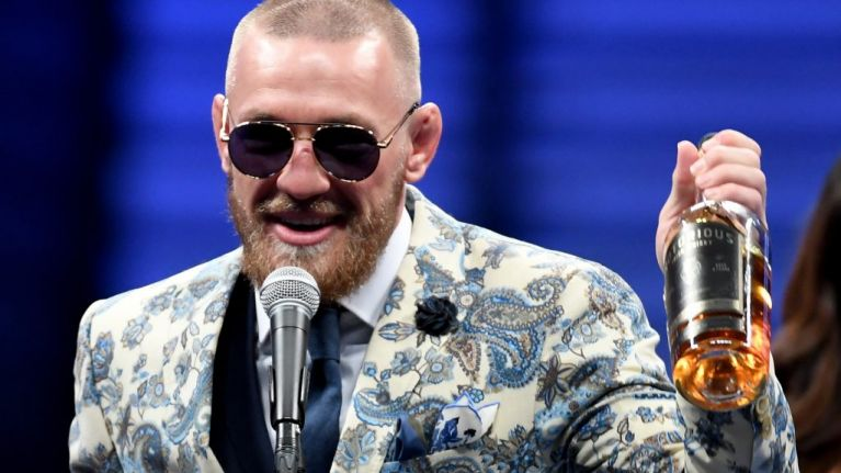 "McGregor Claims He'll ""Take Over The Whiskey Market"""