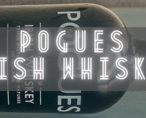 Header image of a bottle of Pogues Irish Whiskey